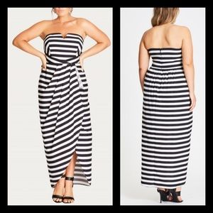 City Chic Fair Lady Maxi Dress